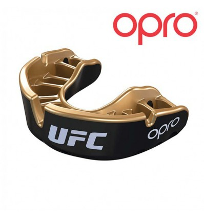Protector Bucal Opro Oro  / Negro UFC