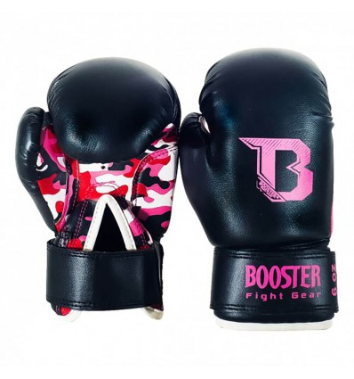 Guantes de Boxeo Booster Infantil - Camo Rosa