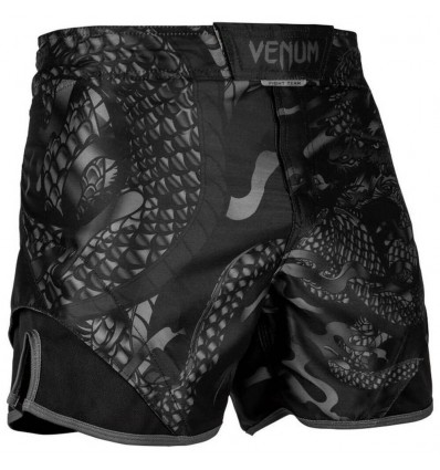 Pantalones MMA Venum Dragon´s Flight Negro Mate