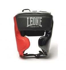 Casco Leone Fighter Life Negro-Rojo