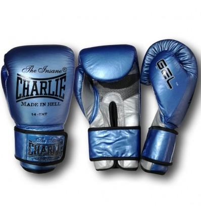 Guantes de Boxeo Charlie Gel Metallic Azul
