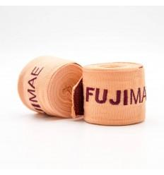 Vendas de Boxeo Fujimae 450cm Naranja-Rojo