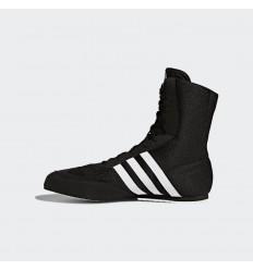 Botas Boxeo Adidas Box Hog 2 Negro-Blanco