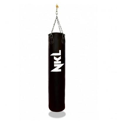 Saco de Boxeo NKL Classic II Piel - 1,50 mts Negro