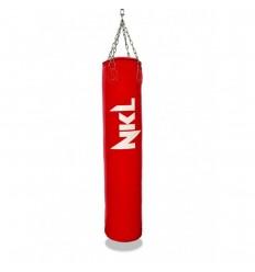 Saco de Boxeo NKL Classic II Piel - 1,20 mts Rojo