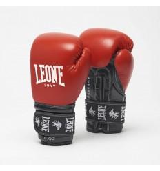 Guantes de boxeo Leone Ambassador Rojo