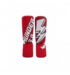 Espinilleras Tubular NKL Thunder 3.0 Rojo