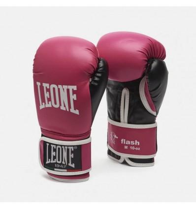 Guantes de Boxeo Leone Flash - Fucsia