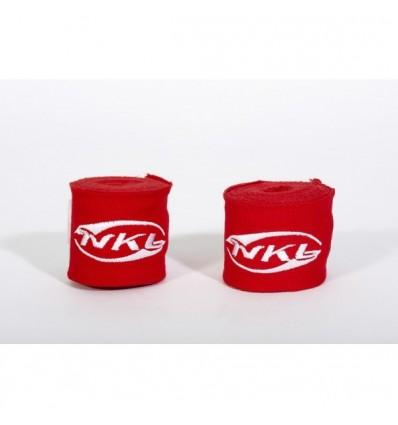 Vendas de Boxeo NKL- 3.5 m Rojo