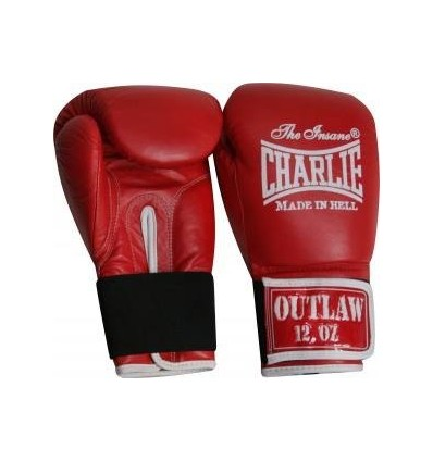 "Guantes de Boxeo Charlie "" Outlaw"" Rojo"
